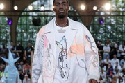Off-White™ Debuts Futura & Nike Collaborations at Paris Fashion Week