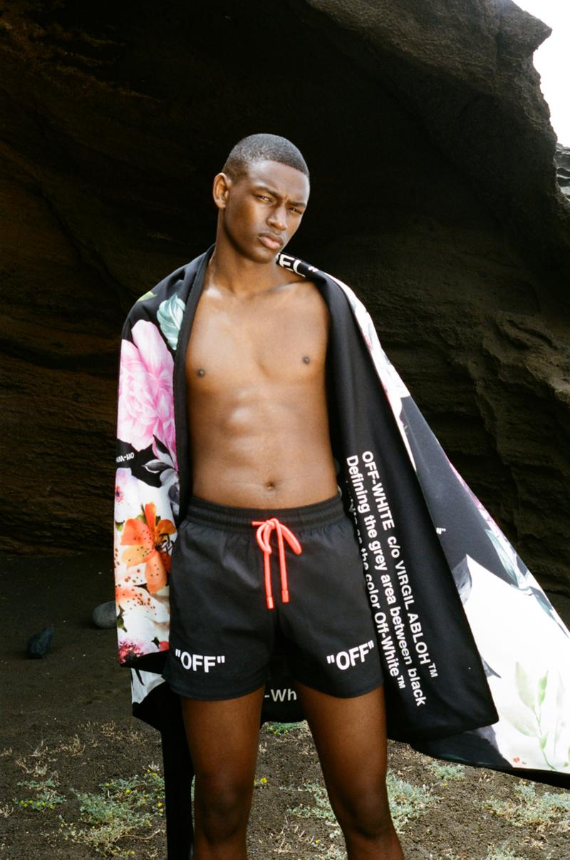 Off-White™ x Vilebrequin SS19 Swimwear Collaboration spring summer 2019 bathing suits beach clothing release date info buy drop