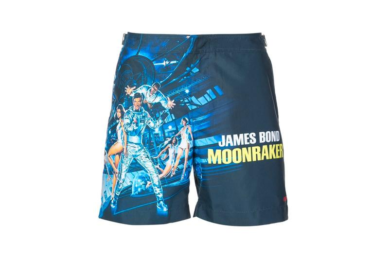 Orlebar Brown 007 Bulldog Swim Trunk Designs james bond swimwear shorts swimming pool side the webster