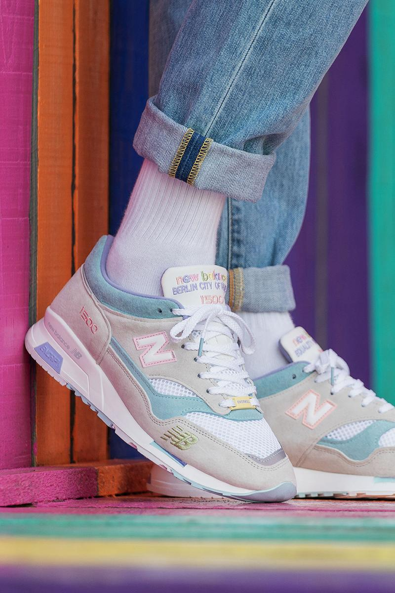 "Overkill x New Balance ""Berlin - City of Values"" Pack 1500 1530 Made in England ENCAP Sole Unit Pride Month Pastel Colors Triple Black Colorway Sneaker Release Information Limited Edition Cop Where to Buy Footwear"