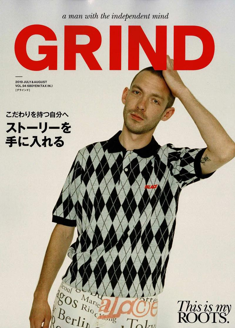 Palace Graces Cover for Grind Magazine Editorial