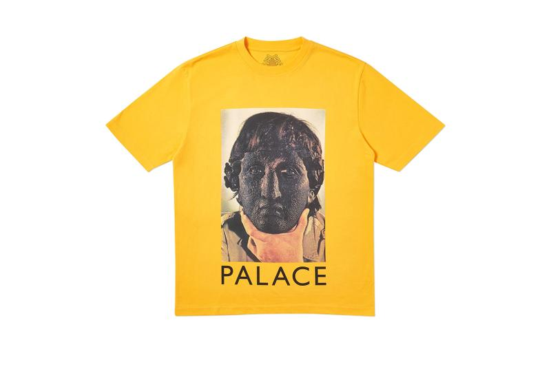 Palace Summer 2019 Week 7 Drop release info beach shorts button up shirts graphic t shirts blue polka dots crew necks