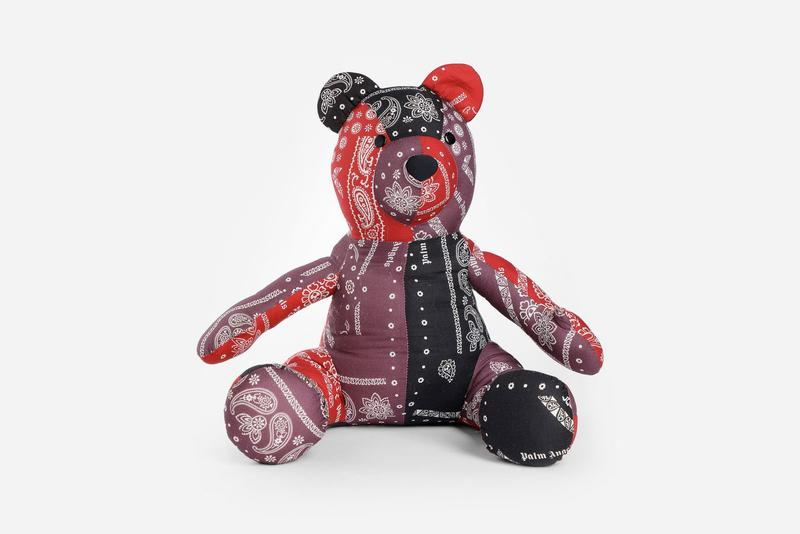 Palm Angels Bandana Patchwork Teddy Bear Release