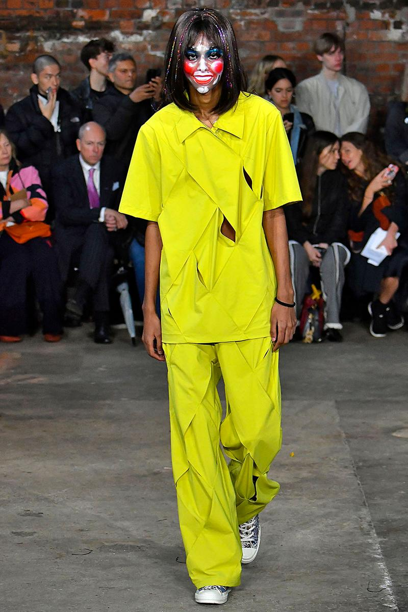 Paria Farzaneh Spring/Summer 2020 London Fashion Week Men's SS20 LFW:M Converse Backstage Kyrie Irving Pusha T