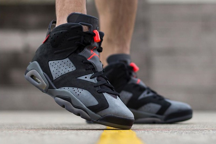 28dd9fa95d4 An On-Foot Look at the Paris Saint-Germain x Air Jordan 6