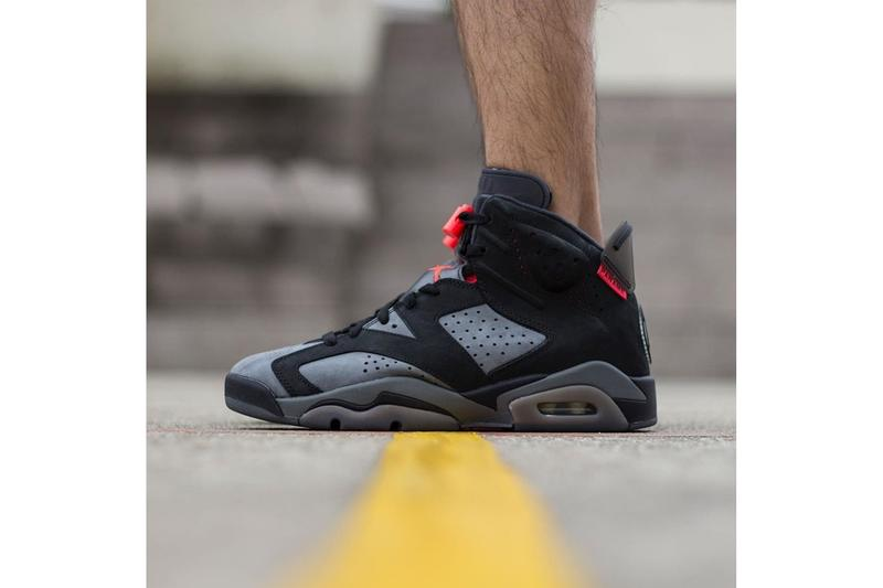 uk availability b6224 4b9ca Paris Saint-Germain x Air Jordan 6 On-Foot Look | HYPEBEAST