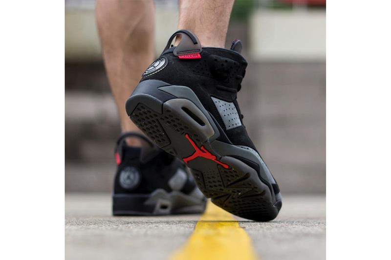 uk availability f4f84 a4e40 Paris Saint-Germain x Air Jordan 6 On-Foot Look | HYPEBEAST