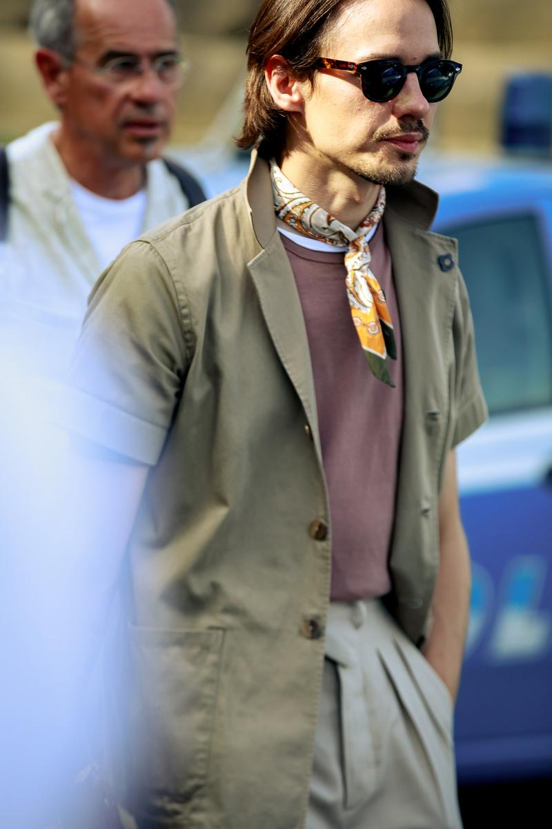 Pitti Uomo 96 spring/summer 2020 street style prada off white undercover takahiromiyashita the soloist florence london fashion week street snaps best off