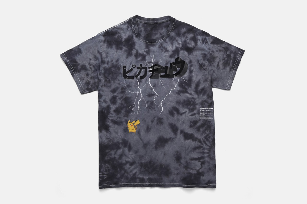 10.Deep x Pokémon Second Capsule Collaboration release date info drop buy june 7 2019 8 buy squirtle bulbasaur pikachu charmander