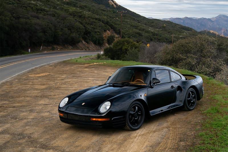 "Porsche 959 Komort 1988 For Sale RM Sotheby's Rare Enthusiast Car German Automotive ""Special Wishes"" Department Exclusive Supercar"