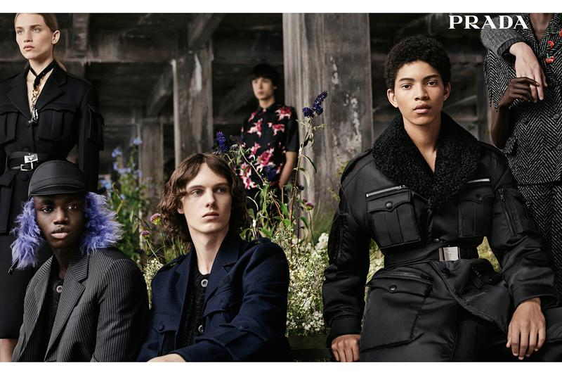 prada fall winter 2019 menswear womenswear campaign anatomy of romance