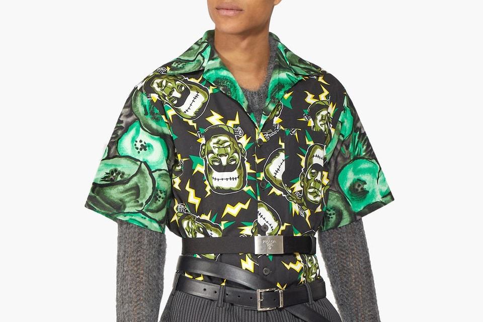 d4737a5aa4 Prada Releases FW19 Runway 'Frankenstein' Shirt   HYPEBEAST
