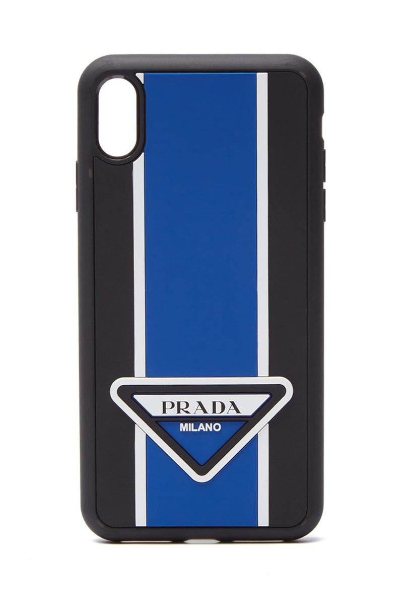 sneakers for cheap 73da2 8d95e Prada Logo-stripe iPhone XS Max Case | HYPEBEAST