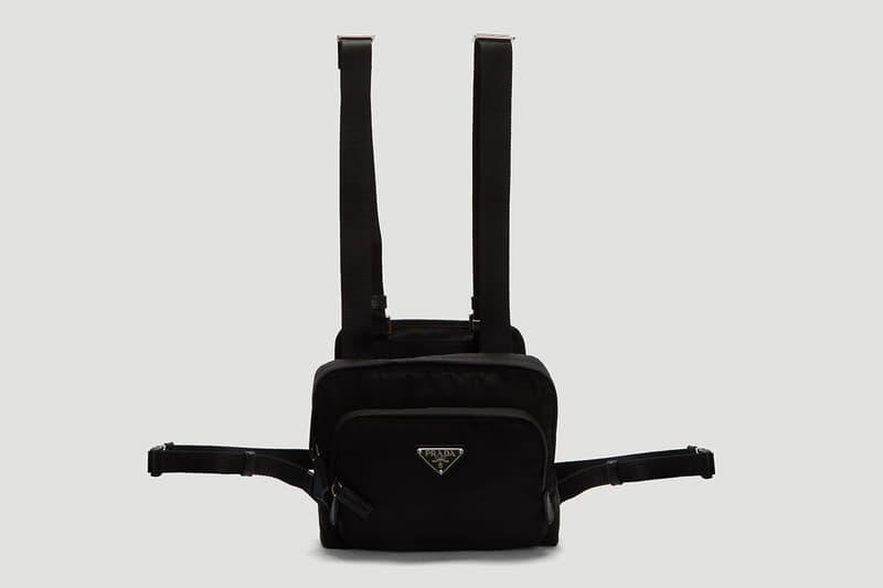 Prada Nylon Harness Bag Release | HYPEBEAST