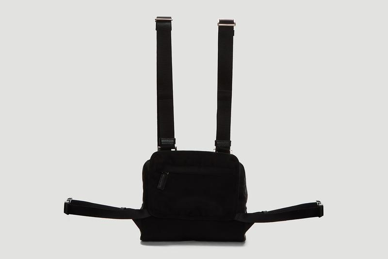 Prada Nylon Harness Bag Release Black Info 2019