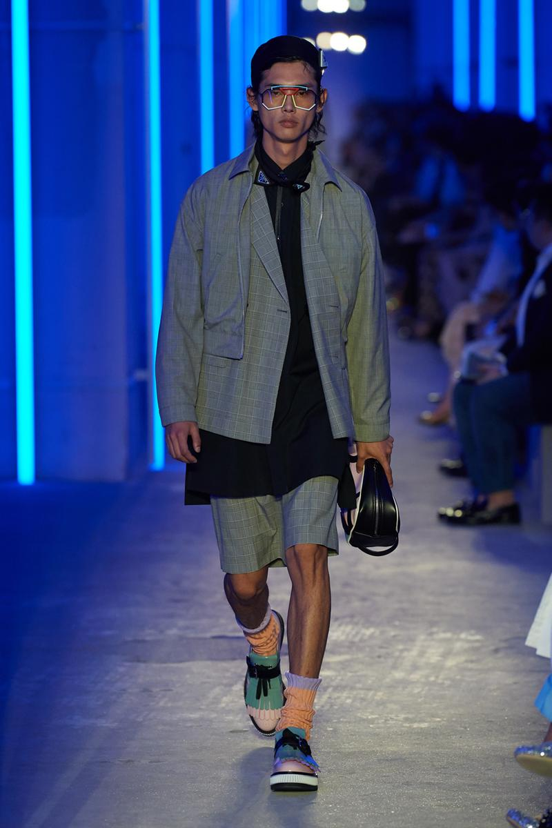 prada spring summer 2020 ss20 mens runway fashion show shanghai china