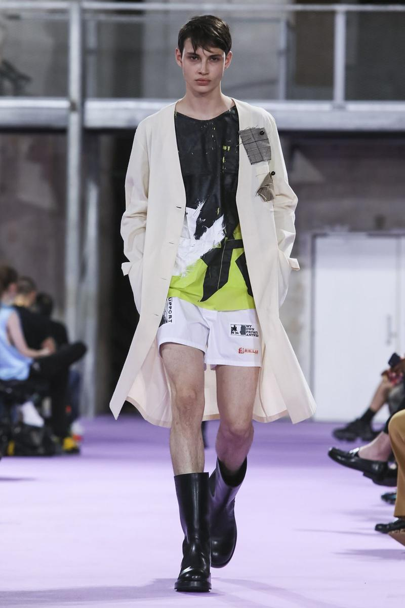 Raf Simons Spring/Summer 2020 Runway Collection paris fashion week pfw ss20 menswear presentation show