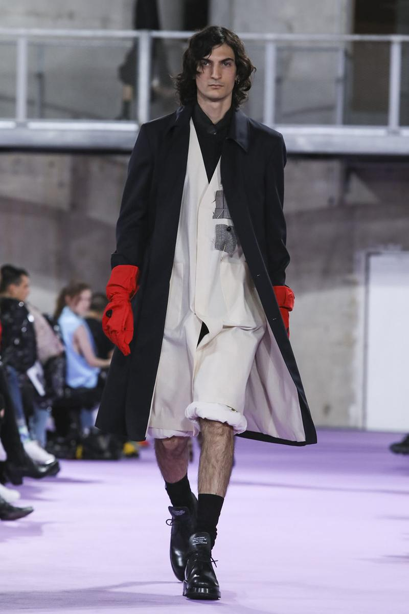 Raf Simons Spring/Summer 2020 Runway Collection paris fashion week pfw ss20 menswear presentation show