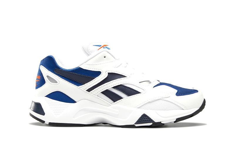 Reebok Aztrek 96 Spring Summer 2019 SS19 Colorways White/Royal Faux Suede OG Retro Revive X Shape Toe Chunky Sneaker Release Information Drop Date Buy Cop Online