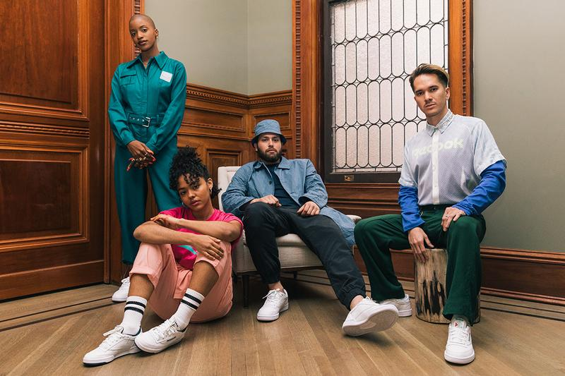 Reebok club c event new york city lillies victorian establishment singer/songwriter Nick Hakim, photographer Adrienne Raquel, stylist Taylor Okata and painter Monica Hernandez