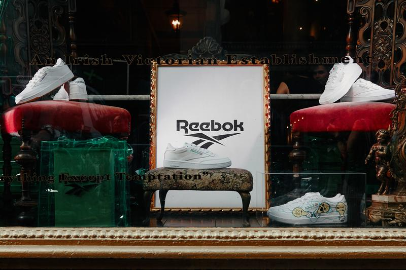 Reebok Club C New York Event Recap lillie's victorian establishment taylor okata adrienne raquel nick hakim