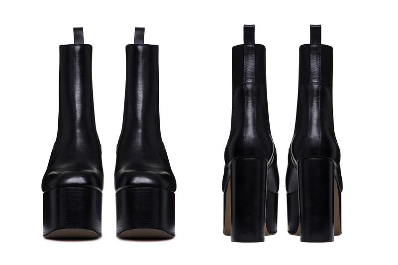Rick Owens Larry Elastic Kiss Boots in Black