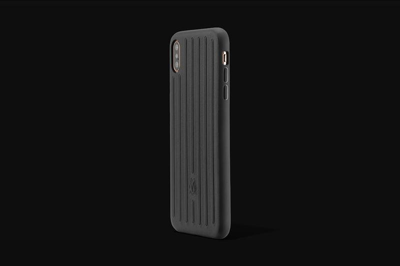RIMOWA Leather Groove iPhone Case Release Apple XS Max Black