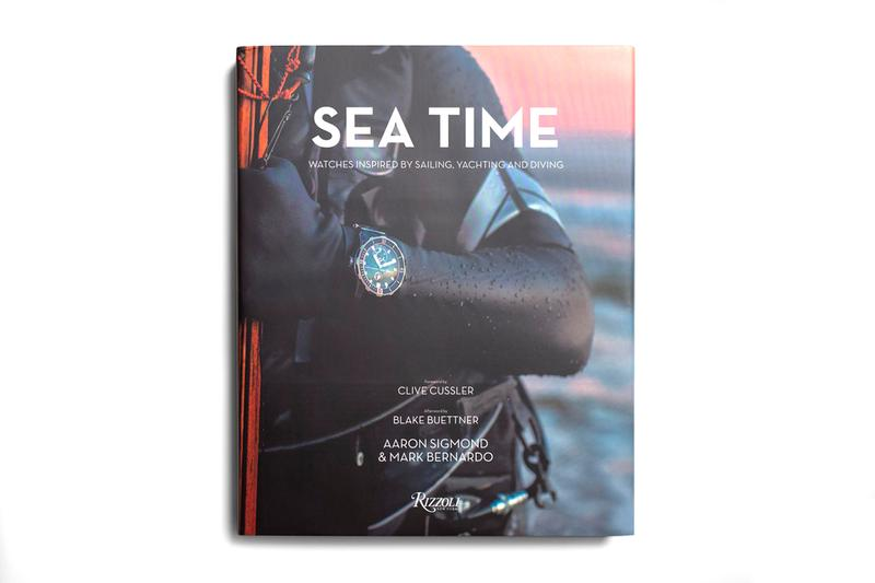 Rizzoli Sea Time Seafaring Watch Guide Release yacht yachting sailing diving watches collectibles vintage contemporary design performance