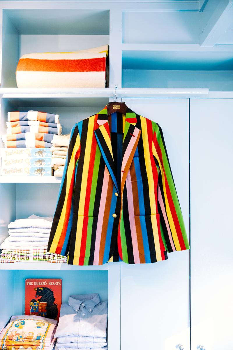 rowing blazers first west coast los angeles popup pop up store brentwood country mart post office substation no 1
