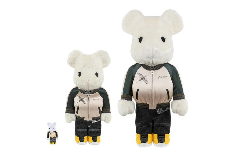 Medicom Toy Joins Sacai and Dr. Woo for Fashionably-Dressed BE@RBRICK