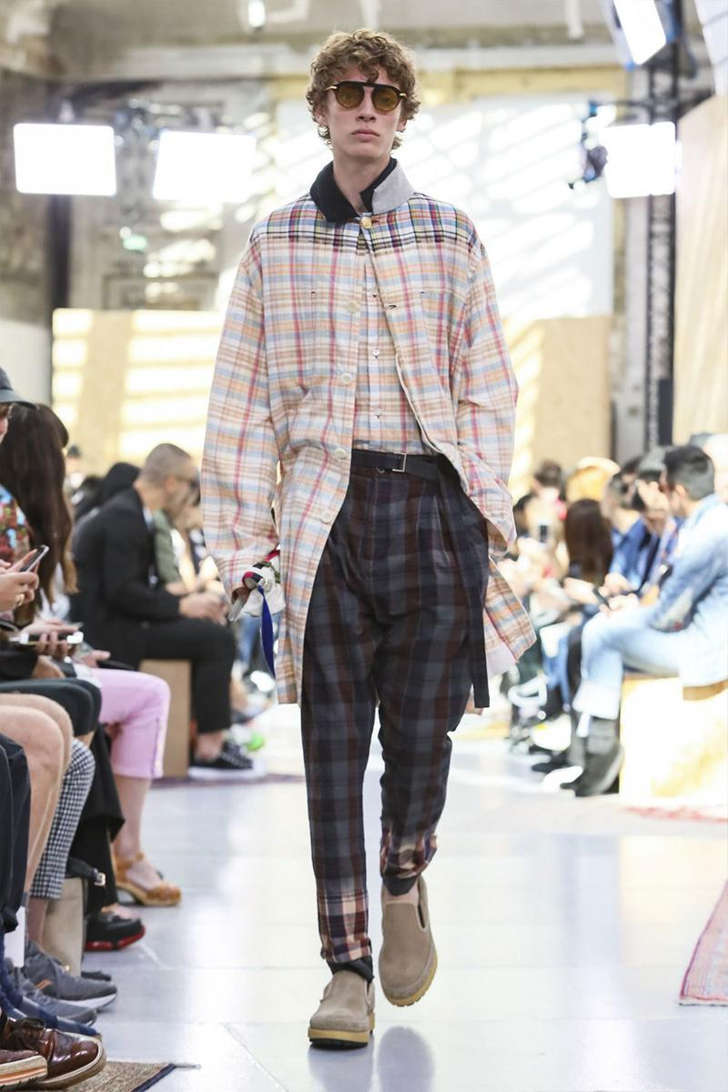 Sacai Paris Fashion Week Mens SS20 Runway Presentation military Chitose Abe