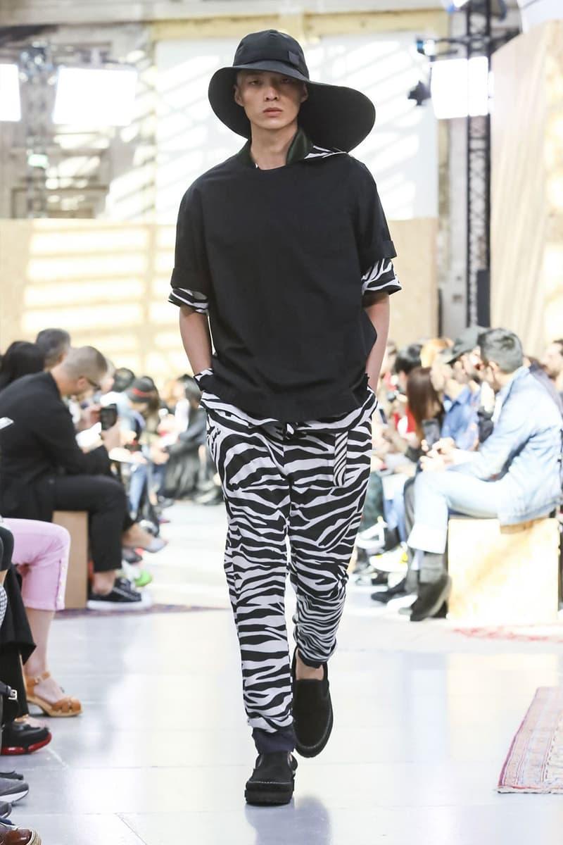 Sacai Paris Fashion Week Mens SS20 Runway Presentation military Chitose Abe