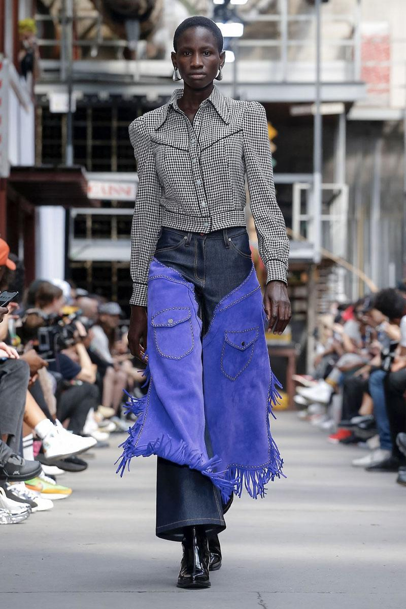 SANKUANZ Spring Summer 2020 Collection Paris Fashion Week Shangguan Zhe Sneaker protectors sandals cowboy western wear southern gothic grunge footwear