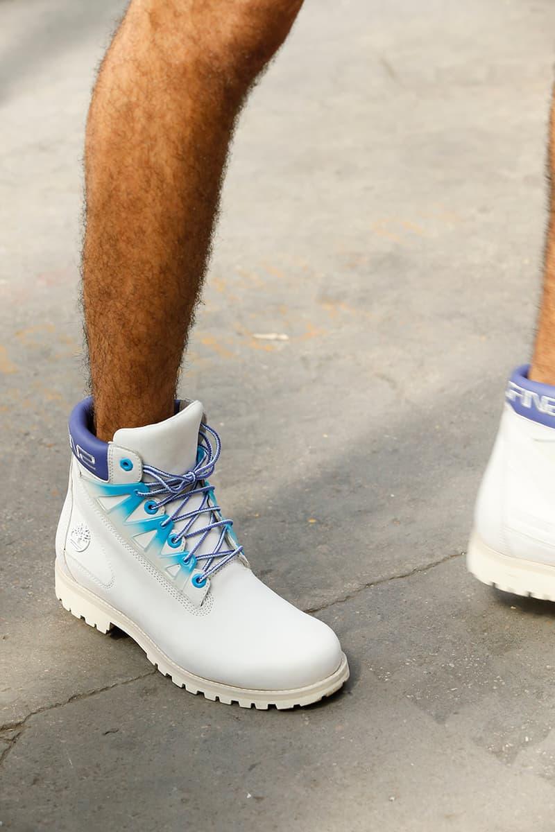 SANKUANZ x Timberland 6 Inch Boot Paris Fashion Week Men's SS20 Spring/Summer 2020 Runway Release Information First Look Collaboration Footwear