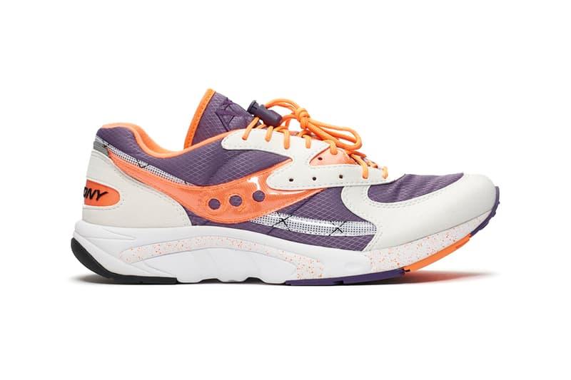 saucony aya purple orange white colorway release 2019