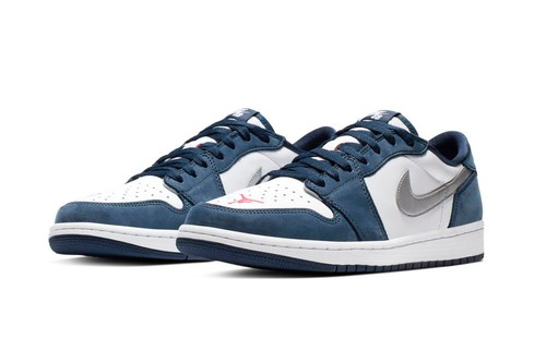 "Here's How to Get the Nike SB x Air Jordan 1 Low ""Midnight Navy"""