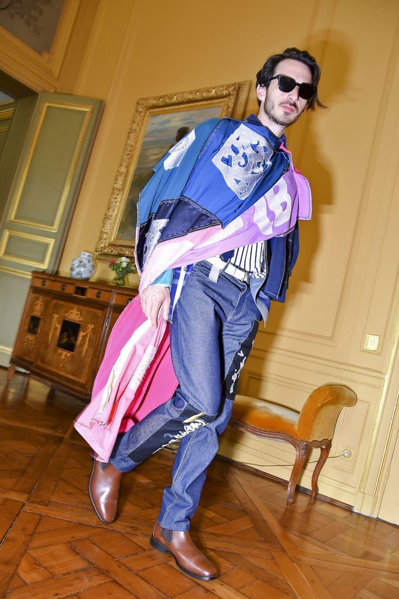 Schepers Bosman SS20 Collection spring summer 2020 paris collection lookbook Sanne Schepers Anne Bosman Chino Ayala Dutch Embassy Hôtel d'Avaray