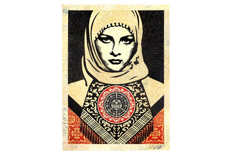 shepard fairey facing the giant three decades of dissent artworks exhibitions