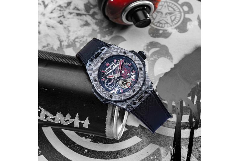 The Shepard Fairey-Designed Hublot Big Bang Meca-10 Has Re-Released