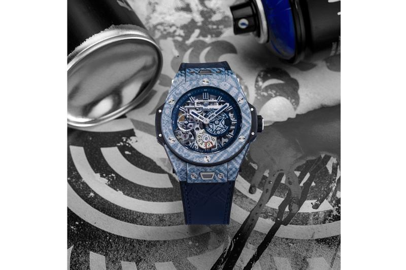 Shepard Fairey x Hublot Big Bang Meca-10 Re-Release watches timepieces collaborations obey street art streetwear