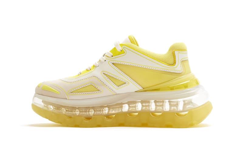 "Shoes 53045 Bump'Air ""Acid"" Sneaker Release Drop Information Chunk Hybrid Footwear Balenciaga Triple S Designer David Tourniaire-Beauciel"