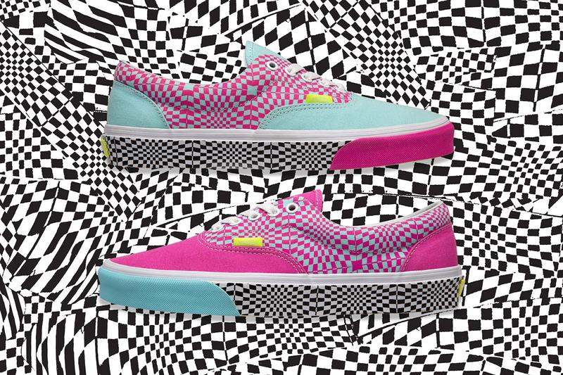 "size? x Vans Era ""Warped check"" Collaboration Release info date checkerboard colorway drop exclusive june 7 2019 buy"