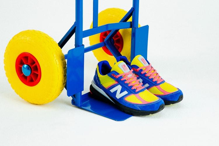 c581eb623b size? & New Balance Unveil Corner Shop-Inspired 990v5