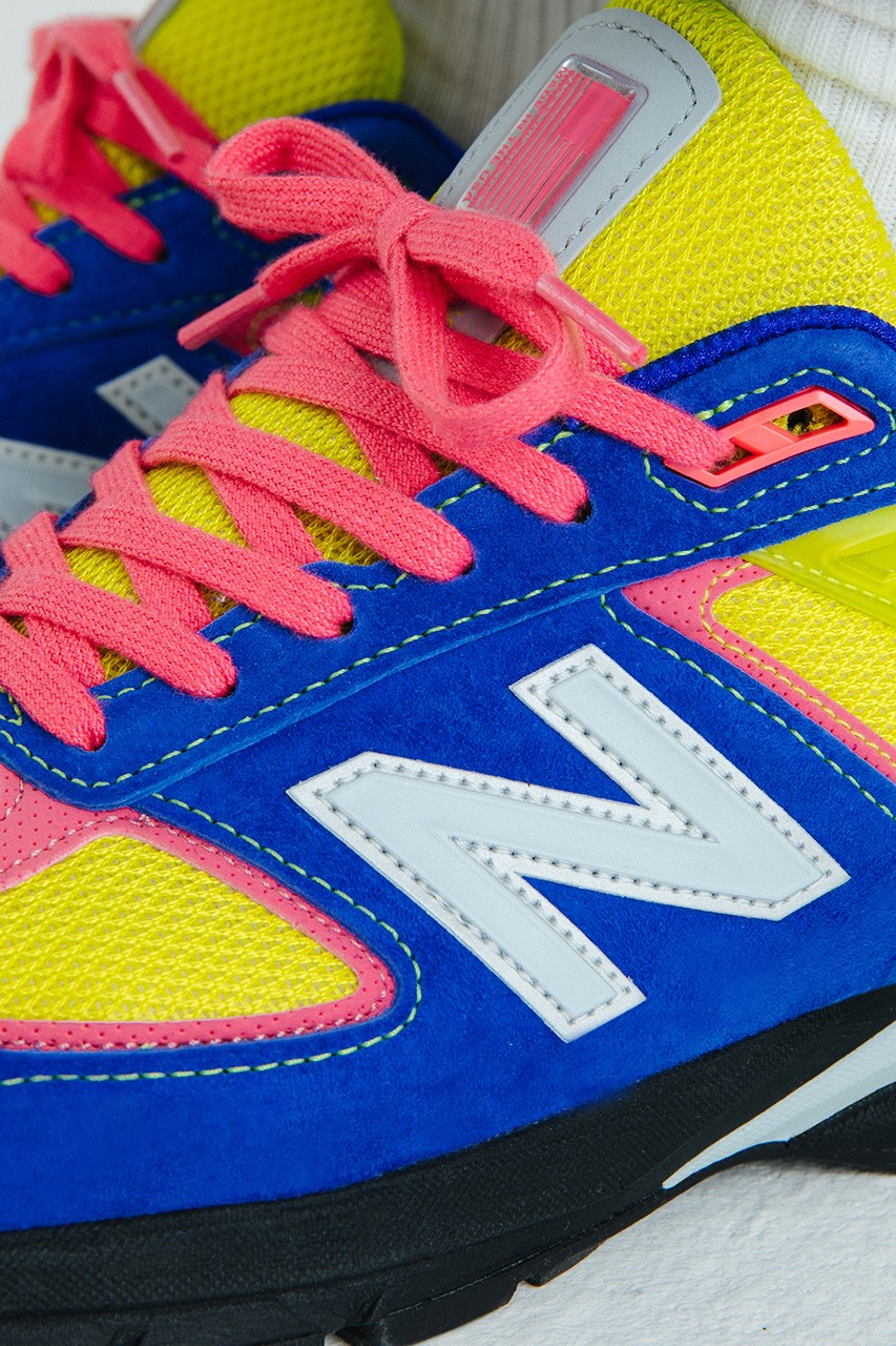 size? x New Balance 990v5 First Look
