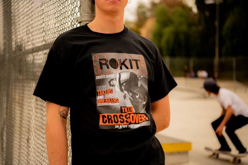 ROKIT SLAM 2019 Capsule Collection Skateboarding Basketball graphics orange crossover Lock Up Tees t shirts