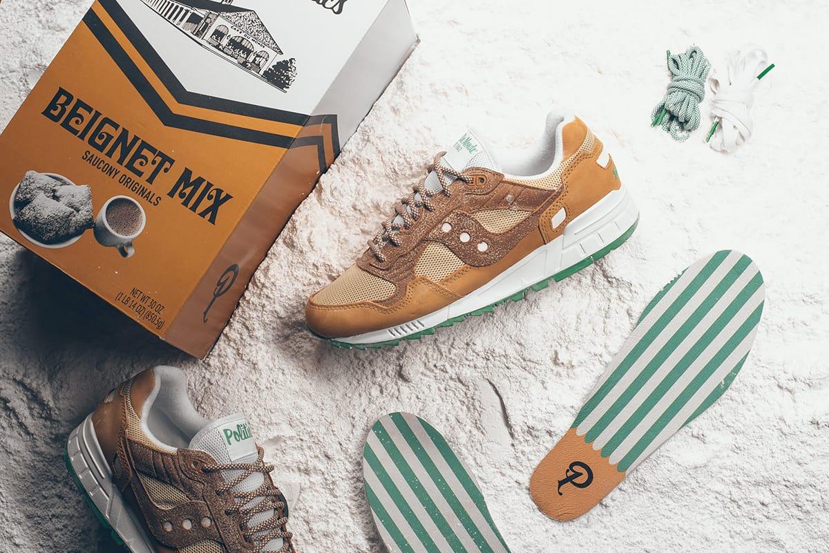 Sneaker Politics x Saucony x Café Du
