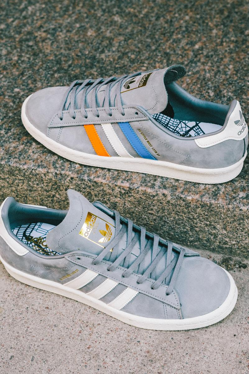 sneakersnstuff sns adidas originals campus 80s 22 little west sneaker release 2019