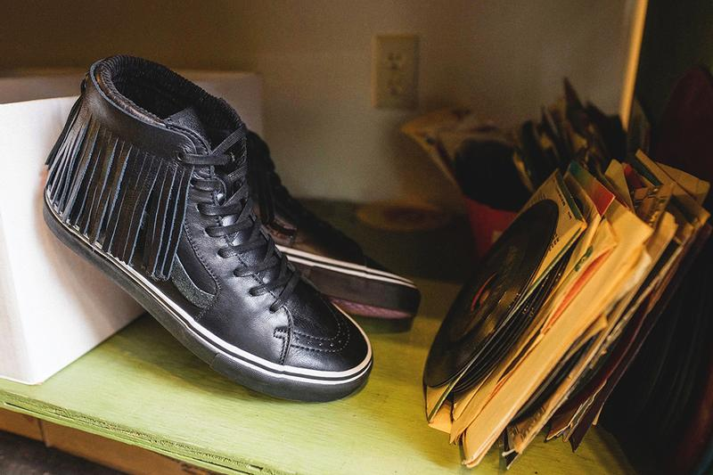 Sole Classics Vans The Funk Collection funk soul rock and roll hall of fame ohio retailer flower 70s chukka sk8-hi slip-on lx