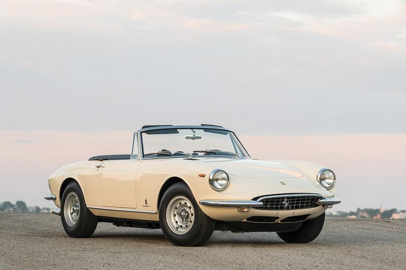 Sotheby s 1969 Ferrari 365 GTS Spider Auction vintage cars italian prancing horse racing collection