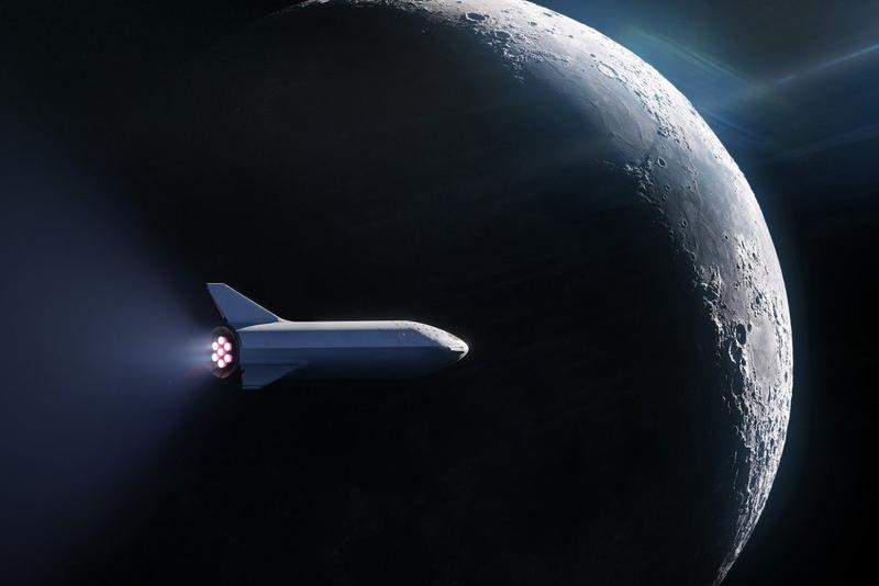 SpaceX Starship Commercial Flights Spaceship 2021